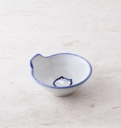 とんすい 鍋 食器 のらや 猫 美濃焼 磁器