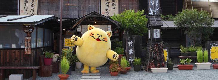 のらや うどん 猫 大阪 堺 猫食器